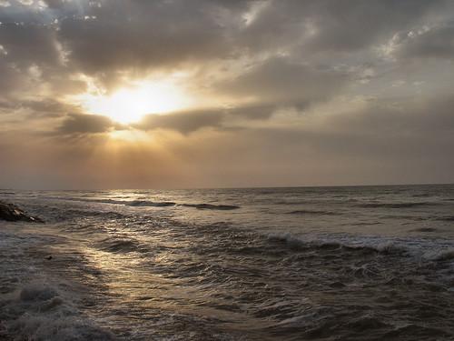 sea cloud sun set iran caspian rise mywinners wonderfulworldmix