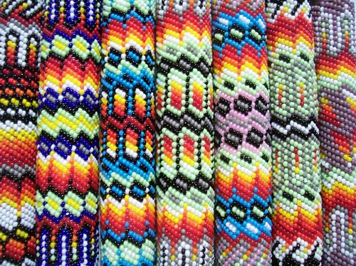 Native American Peyote Beading Patterns http://www.flickr.com/photos/medicinehorse7/3189637455/