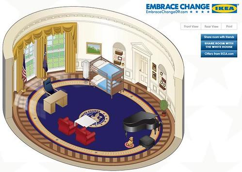 Ikea Brings Change To The Oval Office Media Culpa