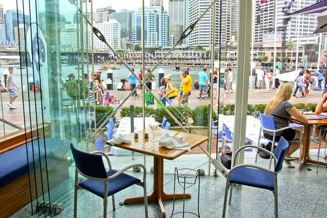 Jordans seafood restaurant darling harbour sydney nsw for Australian cuisine restaurants sydney