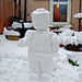 Lego Snowman by Rogue Bantha