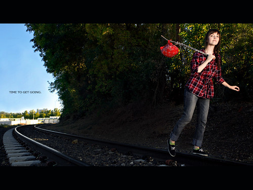 travel portrait leaving lyrics interestingness widescreen traintracks adventure explore tribute letterbox 365 bandana tompetty inspiredby timetomoveon 365days explored september09 canoneos5dmarkii laurenrandolph laurenlemon ivebeenreallyintotheletterboxcroplately feelingcinematicorsomething