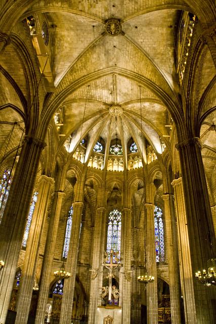 Interior catedral de barcelona flickr photo sharing for Catedral de barcelona interior