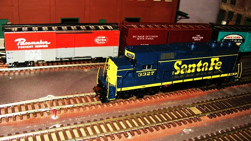 The Oak Park Society of Model Engineers H.O Scale Model Railroad Club.  Oak Park Illinois USA. May 2011. by Eddie from Chicago