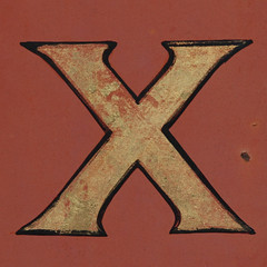 letter X by Leo Reynolds