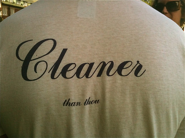 Cleanliness Next to Godliness