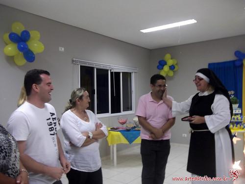 Arte da Tribo - Telegrama Animado - Freira - Aniversário 05032014  (18) by Arte da Tribo Produções