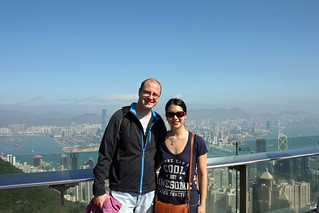 Dan and Mei on the Peak