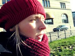 art, clothing, red, knitting, beanie, hat, cap, knit cap, headgear,