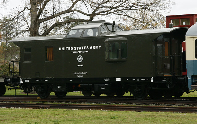 US Army Caboose