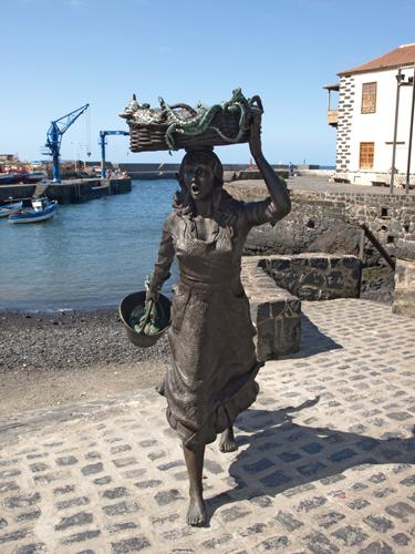 The Fish Wife, Harbour, Puerto de la Cruz