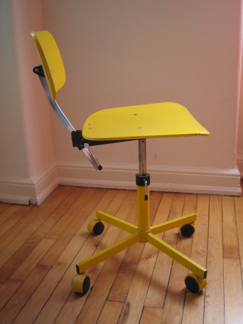 Yellow Desk Chair | Flickr - Photo Sharing!