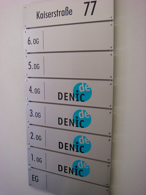 DENIC offices