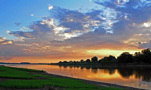 africa sunset sky water colors clouds reflections river island rice madagascar soe mywinners anawesomeshot aplusphoto theunforgettablepictures bekopaka manambolo betterthangood tup2 bestcapturesaoi