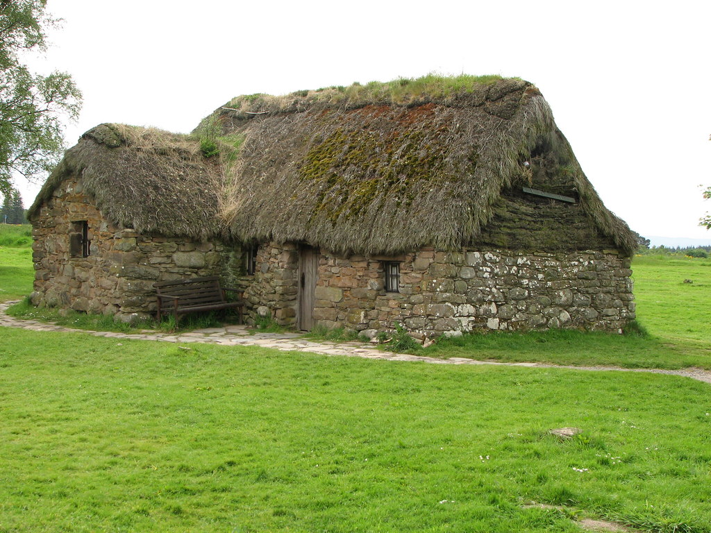 Old Leanach Cottage, Culloden