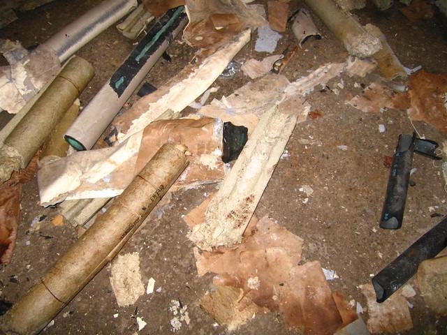 Disturbed Unibestos Asbestos Pipe Wrap Flickr Photo