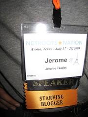 Starving Blogger :: Jerome Guillet