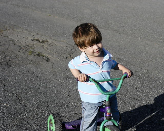 Axel et le tricycle III