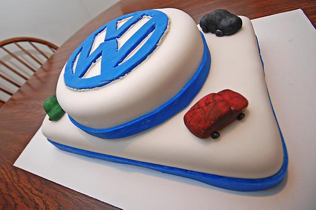 VW Cake Flickr - Photo Sharing!