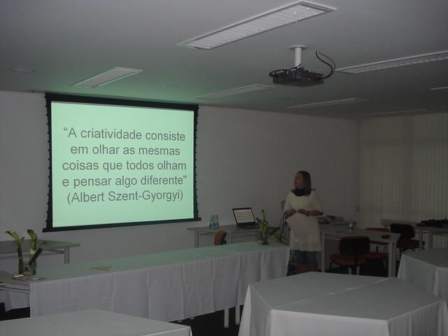apresentação em slide show