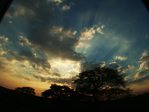 sunset nicaragua f700 尼加拉瓜