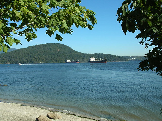 Burrard Inlet from Cates Park