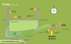 Goa Properties - Real Estate India - Sapana Woods Location
