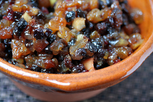 Traditional mincemeat pie recipe for English mincemeat recipe