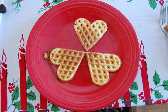 Norwegian Heart Waffles