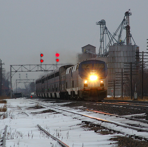 Amtrak #5 at Earlville