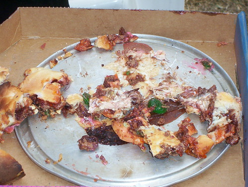 Chocolate and lolly pizza