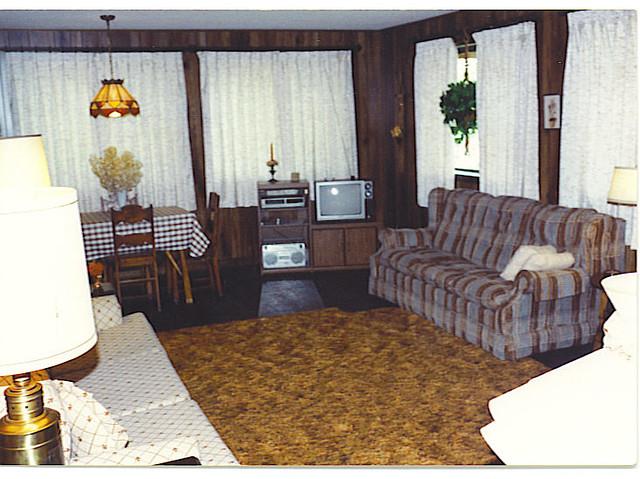 Living In The 90s : Lake Dease cabin livingroom 90s  Flickr - Photo Sharing!