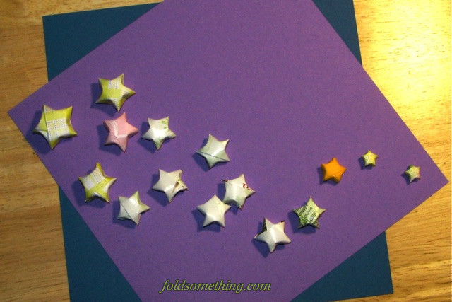 Origami Lucky Stars | Flickr - Photo Sharing! - photo#14