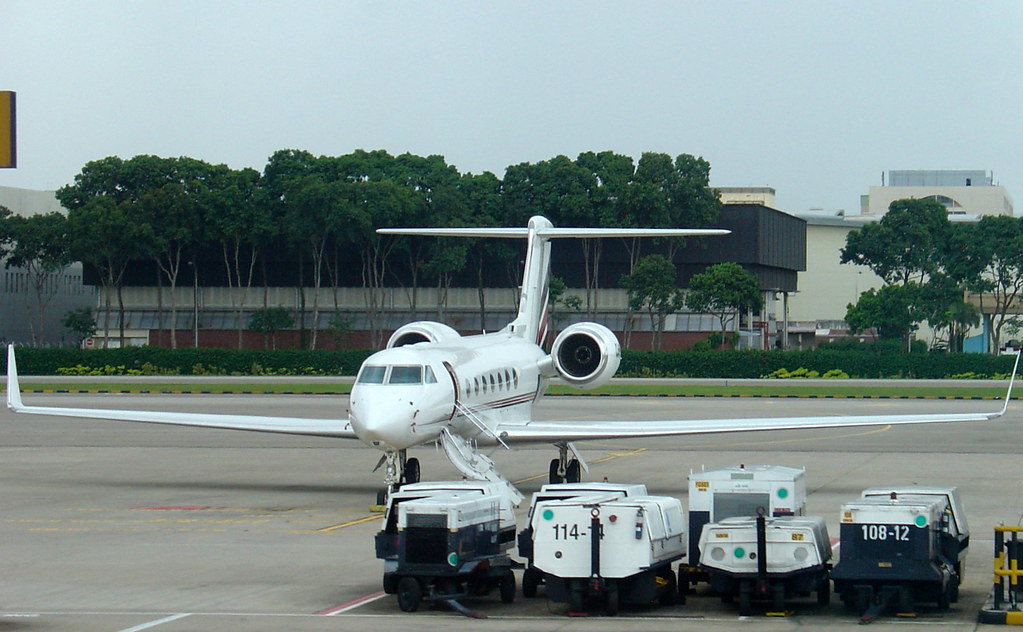 Private Jet At Changi Aiport Singapore  Flickr  Photo Sharing
