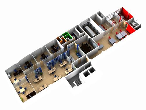 Oficinas 3d shayver flickr photo sharing for Oficina virtual del cliente iberdrola
