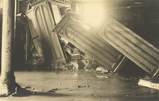 1913 Flood Damage at the Library