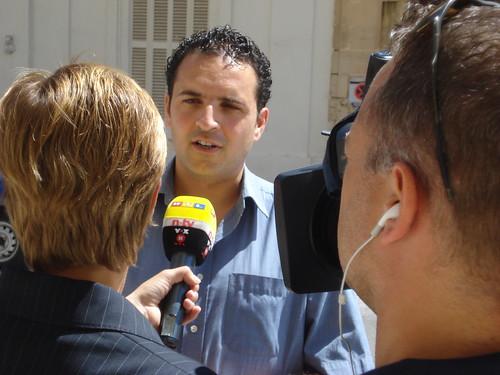 Intervista mal-istazzjon Ġermaniż RTL