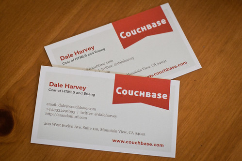 Couchbase Business Cards
