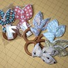 Custom order of teething rings. #sew #sewing #handmade #teether #teethingring #toy #baby