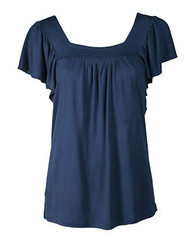 day dress, textile, clothing, sleeve, cobalt blue, blouse,
