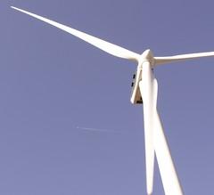 Una turbina eólica