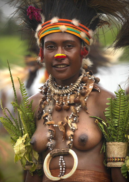 papua new guinea beauty girl