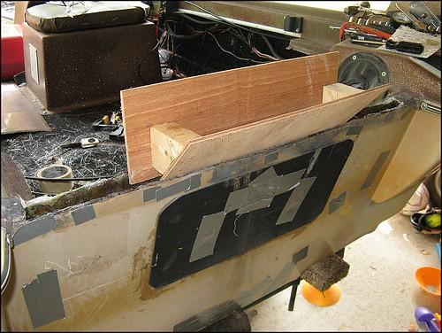 Aluminum Boat Transom Repair