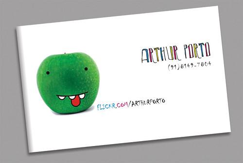 Business (?) Card by Arthur Porto