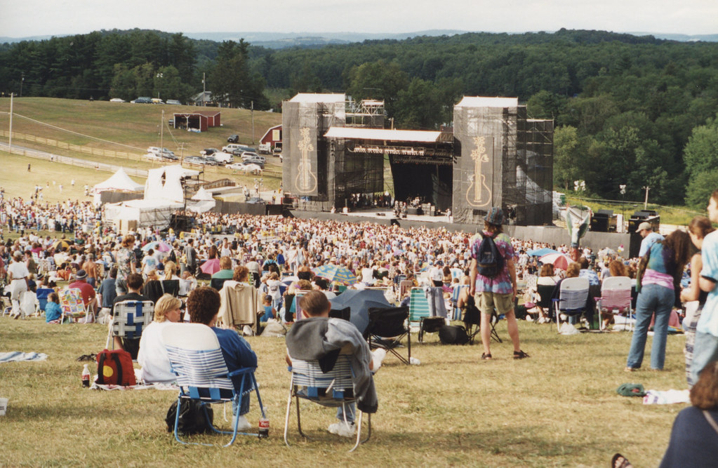 How To Level A Garden >> woodstock-99-dig stage | Flickr - Photo Sharing!