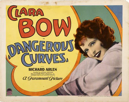 Dangerous Curves lobby card. by carbonated