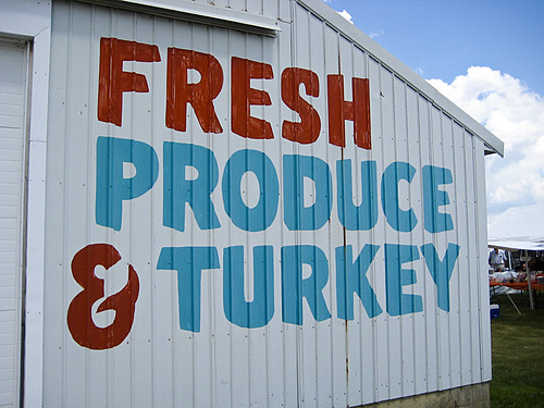 Fresh Produce & Turkey