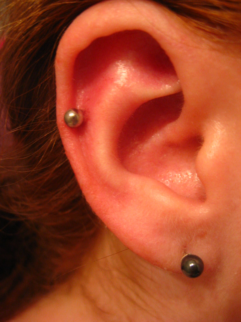 Industrial Piercing Infection - DOES YEAST INFECTION SMELL