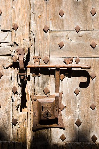 Villefranche De Conflent Locked Door