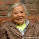 Old Chinese Woman, Warm Smile - Chengdu, China